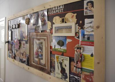 collage schilderij
