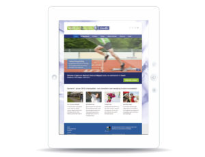 Website Sportgeneeskunde Drenthe